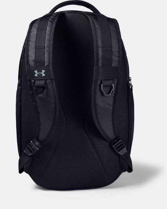 UA Hustle Backpack, Black, pdpMainDesktop image number 1