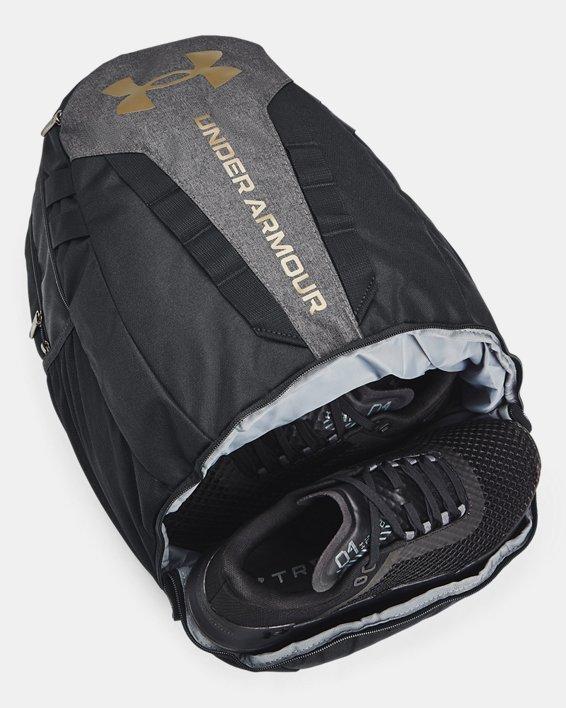 UA Hustle Backpack, Black, pdpMainDesktop image number 3
