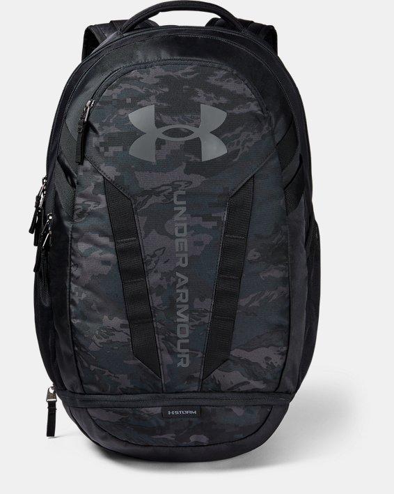 UA Hustle Backpack, Black, pdpMainDesktop image number 0