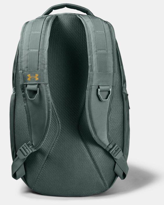 UA Hustle Backpack, Blue, pdpMainDesktop image number 1