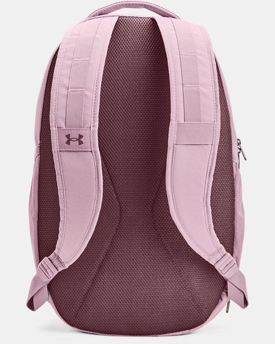 UA Hustle 5.0 Rucksack, Pink, pdpMainDesktop image number 2