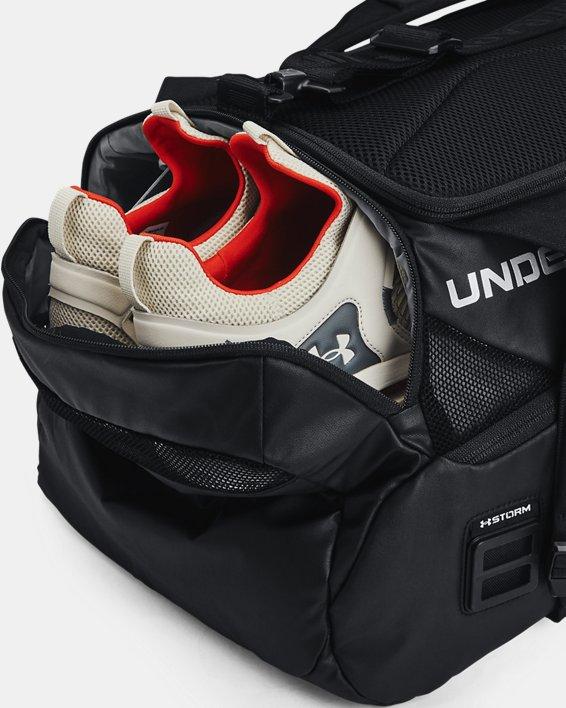 Unisex UA Contain Duo Small Duffle, Black, pdpMainDesktop image number 5