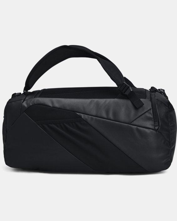 Unisex UA Contain Duo Small Duffle, Black, pdpMainDesktop image number 2