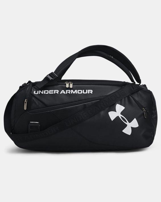 Unisex UA Contain Duo Small Duffle, Black, pdpMainDesktop image number 1