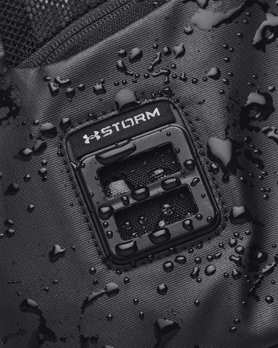 Unisex UA Contain Duo Small Duffle, Black, pdpMainDesktop image number 6
