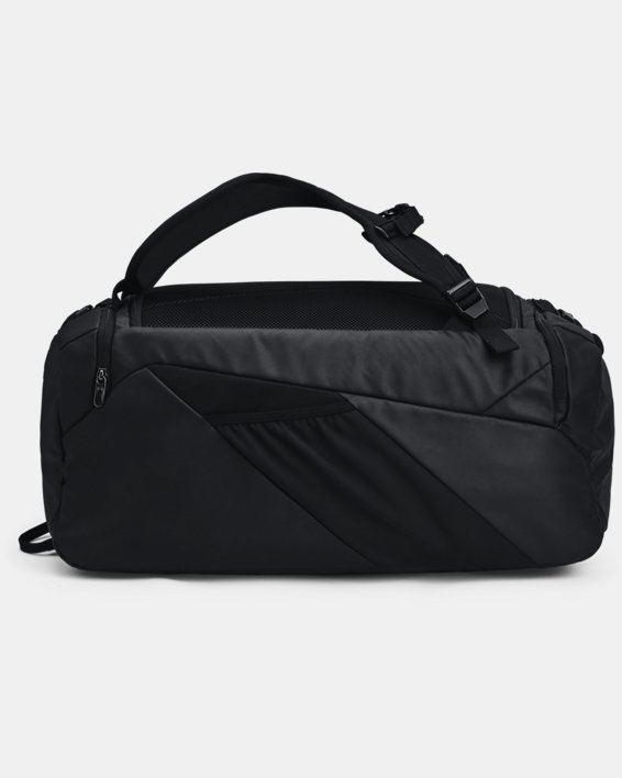 Unisex UA Contain Duo Mittelgroße Duffle-Tasche, Black, pdpMainDesktop image number 2