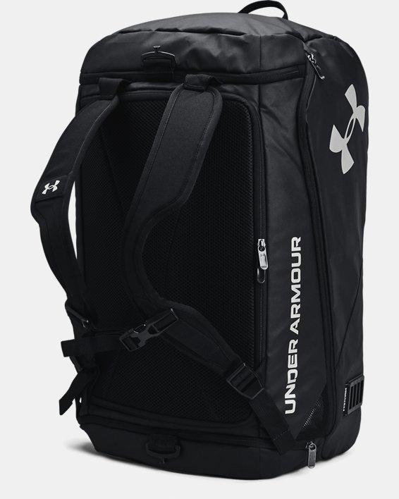 Unisex UA Contain Duo Mittelgroße Duffle-Tasche, Black, pdpMainDesktop image number 3