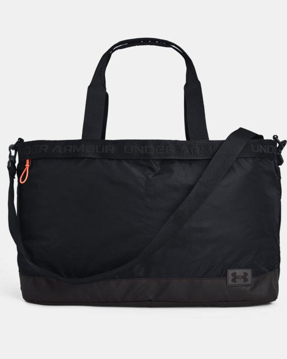 Damen UA Essentials Signature Tragetasche, Black, pdpMainDesktop image number 1