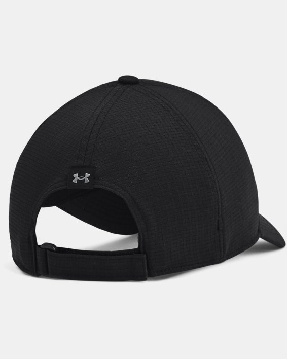 Men's UA Iso-Chill ArmourVent™ Adjustable Hat, Black, pdpMainDesktop image number 1