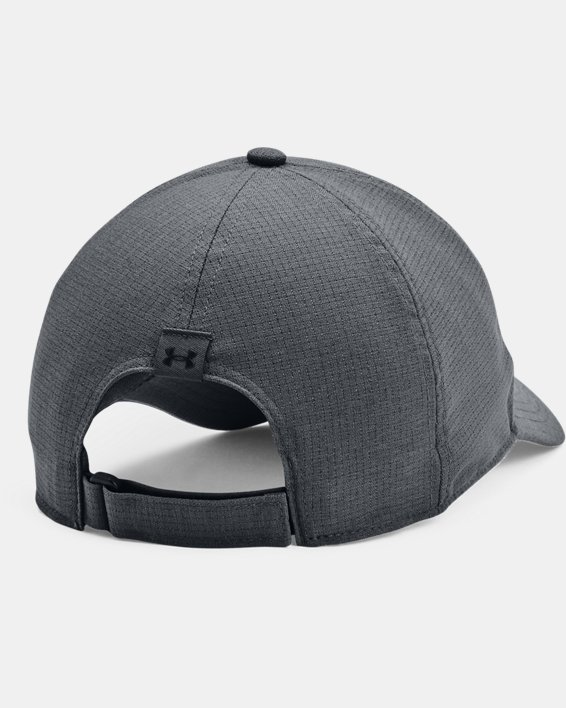 Men's UA Iso-Chill ArmourVent™ Adjustable Hat, Gray, pdpMainDesktop image number 1