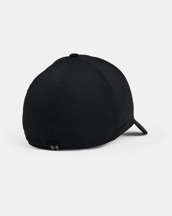 Men's UA Iso-Chill ArmourVent™ Stretch Hat, Black, pdpMainDesktop image number 1