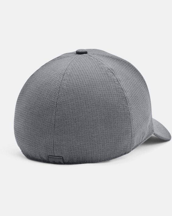 Men's UA Iso-Chill ArmourVent™ Stretch Hat, Gray, pdpMainDesktop image number 1