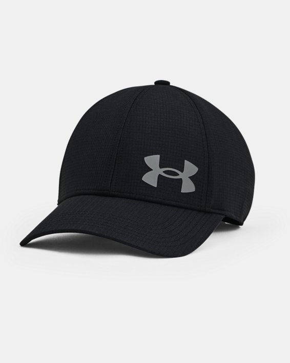 Men's UA Iso-Chill ArmourVent™ Stretch Hat, Black, pdpMainDesktop image number 0