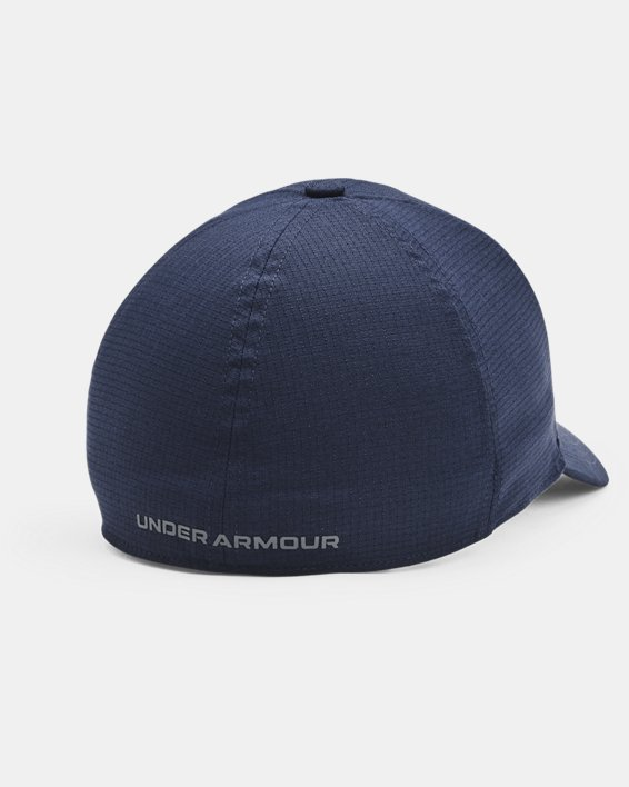 Men's UA Iso-Chill ArmourVent™ Stretch Hat, Navy, pdpMainDesktop image number 1