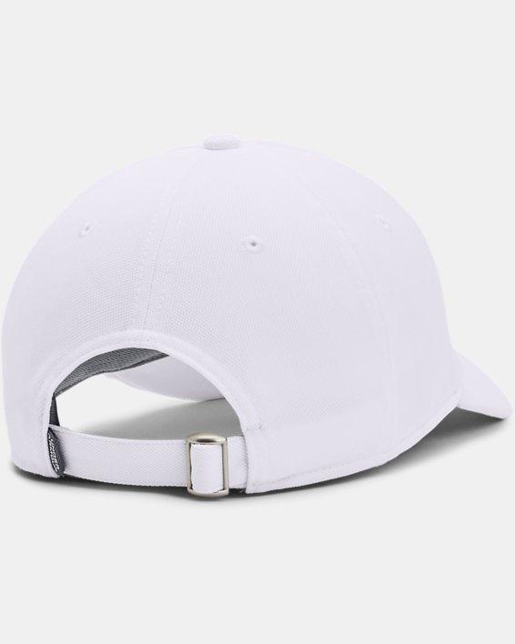 Men's UA Blitzing Adjustable Hat, White, pdpMainDesktop image number 1