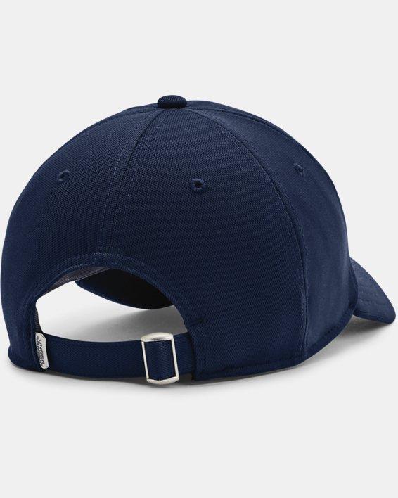 Men's UA Blitzing Adjustable Hat, Navy, pdpMainDesktop image number 1
