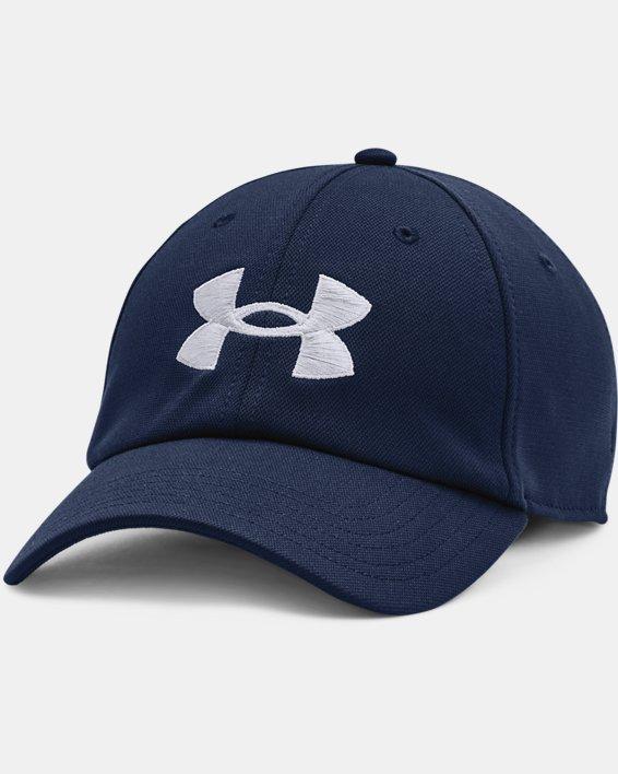 Men's UA Blitzing Adjustable Hat, Navy, pdpMainDesktop image number 0