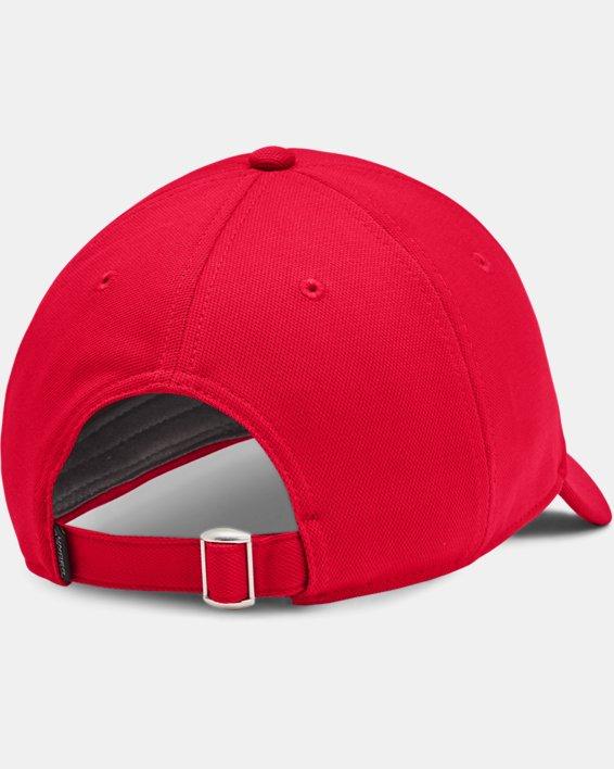 Men's UA Blitzing Adjustable Hat, Red, pdpMainDesktop image number 1
