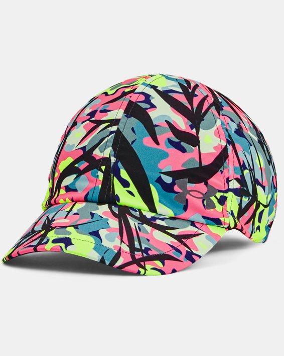 Women's UA Iso-Chill Launch Multi Hair Run Hat, Purple, pdpMainDesktop image number 0