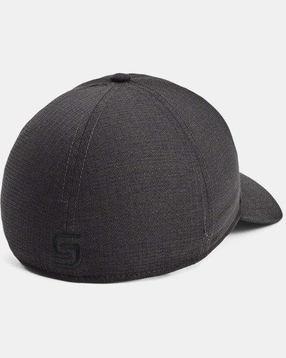 Men's UA Jordan Spieth Golf Hat, Gray, pdpMainDesktop image number 1
