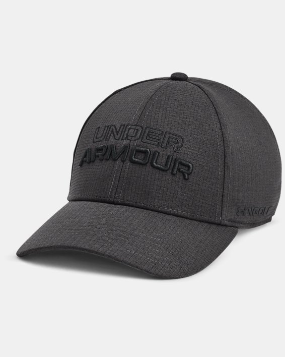 Men's UA Jordan Spieth Golf Hat, Gray, pdpMainDesktop image number 0