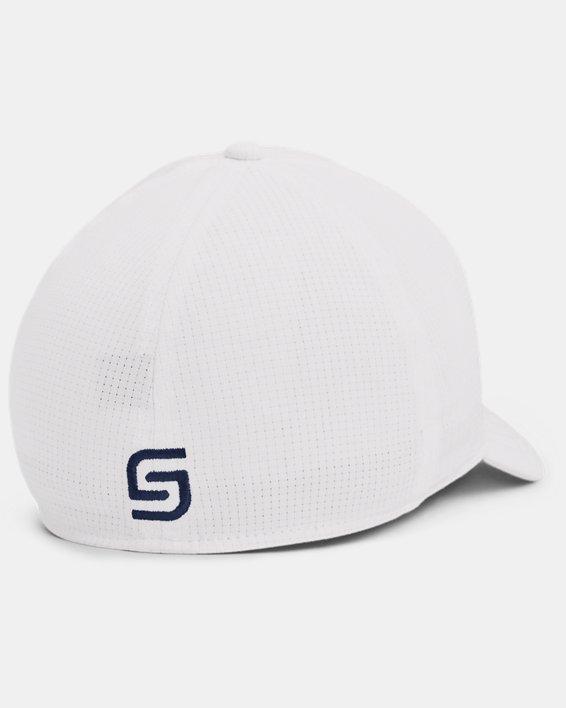 Men's UA Jordan Spieth Golf Hat, White, pdpMainDesktop image number 1