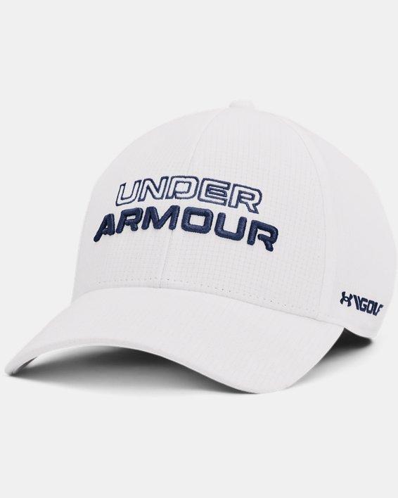 Men's UA Jordan Spieth Golf Hat, White, pdpMainDesktop image number 0
