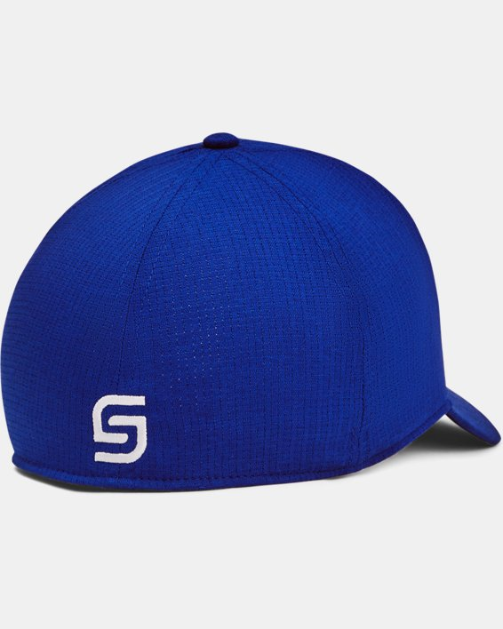 Men's UA Jordan Spieth Golf Hat, Blue, pdpMainDesktop image number 1