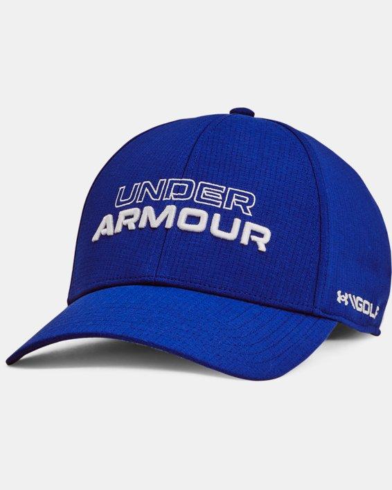 Men's UA Jordan Spieth Golf Hat, Blue, pdpMainDesktop image number 0
