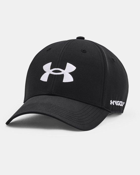 Men's UA Golf96 Hat, Black, pdpMainDesktop image number 0