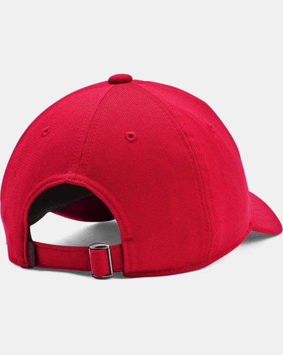 Boys' UA Blitzing Adjustable Hat, Red, pdpMainDesktop image number 1