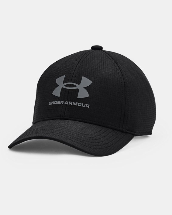Gorra ajustable UA ArmourVent™ para niño, Black, pdpMainDesktop image number 0