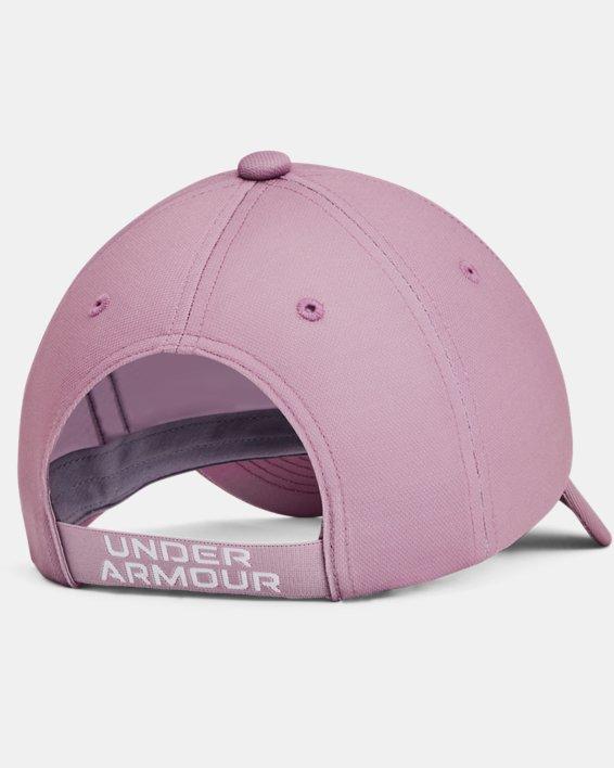 Girls' UA Play Up Cap, Pink, pdpMainDesktop image number 1