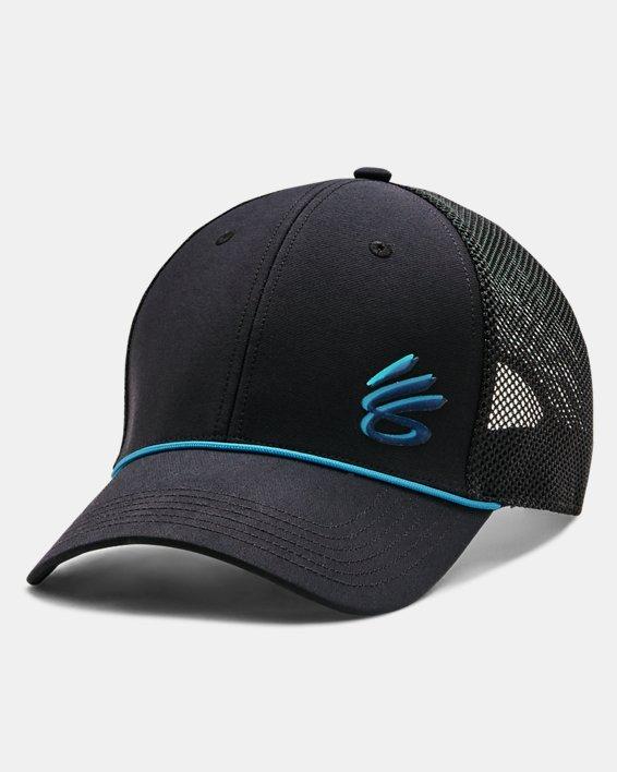Unisex Curry Golf Hat, Black, pdpMainDesktop image number 0