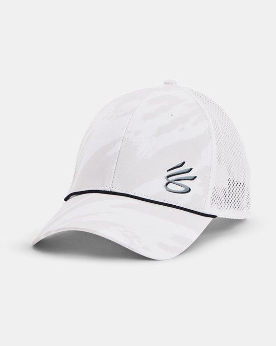 Unisex Curry Golf Hat, White, pdpMainDesktop image number 0