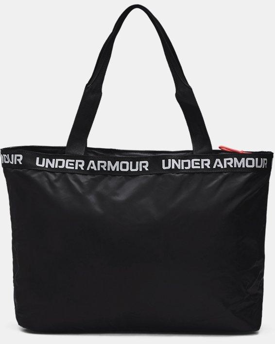 Women's UA Essentials Tote Bag, Black, pdpMainDesktop image number 1
