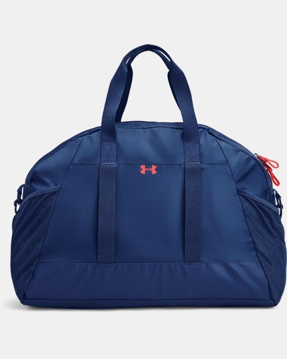 Women's Project Rock Gym Bag, Blue, pdpMainDesktop image number 1