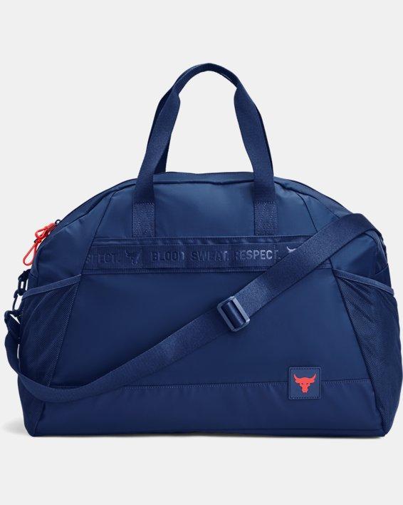 Women's Project Rock Gym Bag, Blue, pdpMainDesktop image number 0