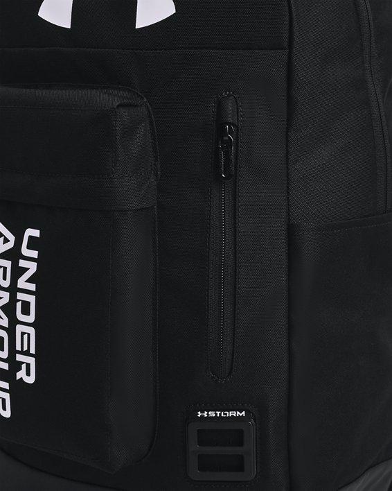 Unisex UA Halftime Backpack, Black, pdpMainDesktop image number 3