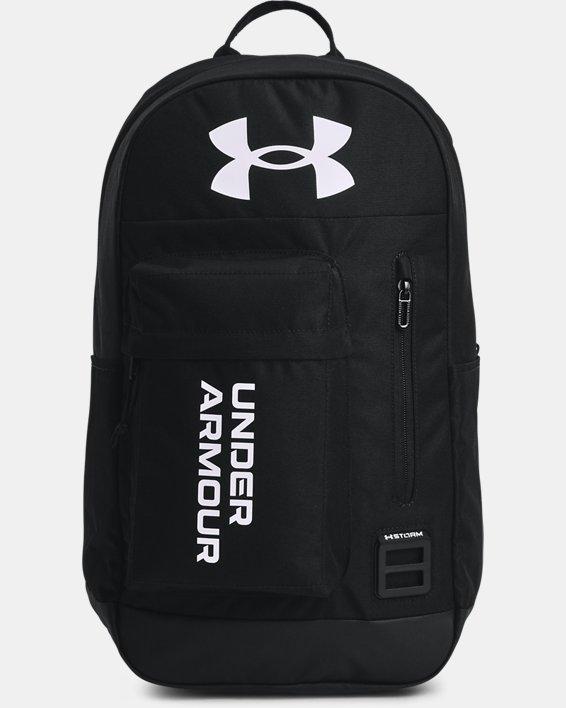 Unisex UA Halftime Backpack, Black, pdpMainDesktop image number 1