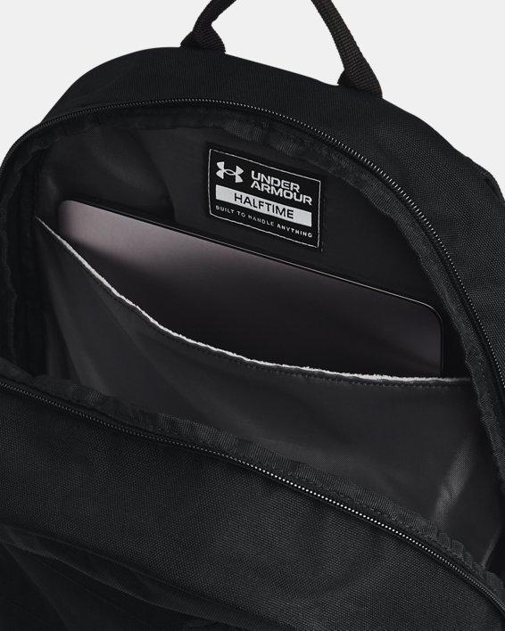 Unisex UA Halftime Backpack, Black, pdpMainDesktop image number 4
