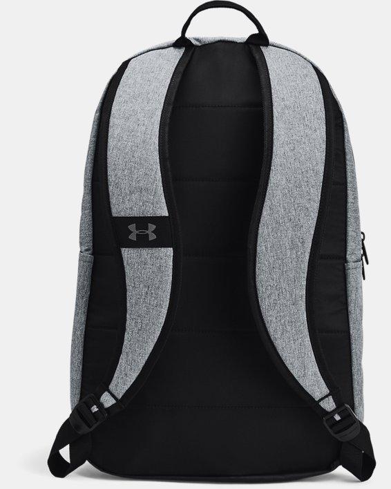 Unisex UA Halftime Backpack, Gray, pdpMainDesktop image number 2