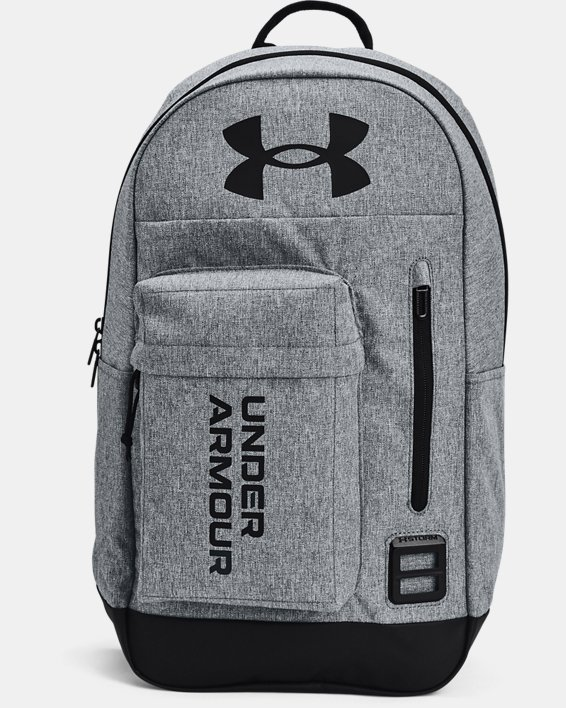 Unisex UA Halftime Backpack, Gray, pdpMainDesktop image number 1