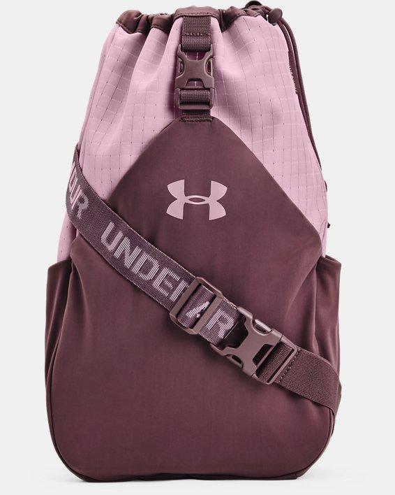 Unisex UA Flex Sling Bag, Purple, pdpMainDesktop image number 0