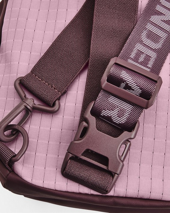 Unisex UA Flex Sling Bag, Purple, pdpMainDesktop image number 4