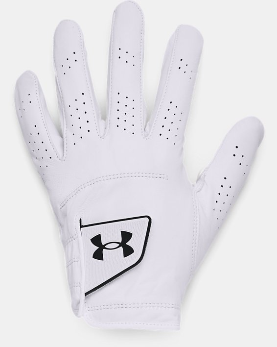 Men's UA Spieth Tour Glove, White, pdpMainDesktop image number 0