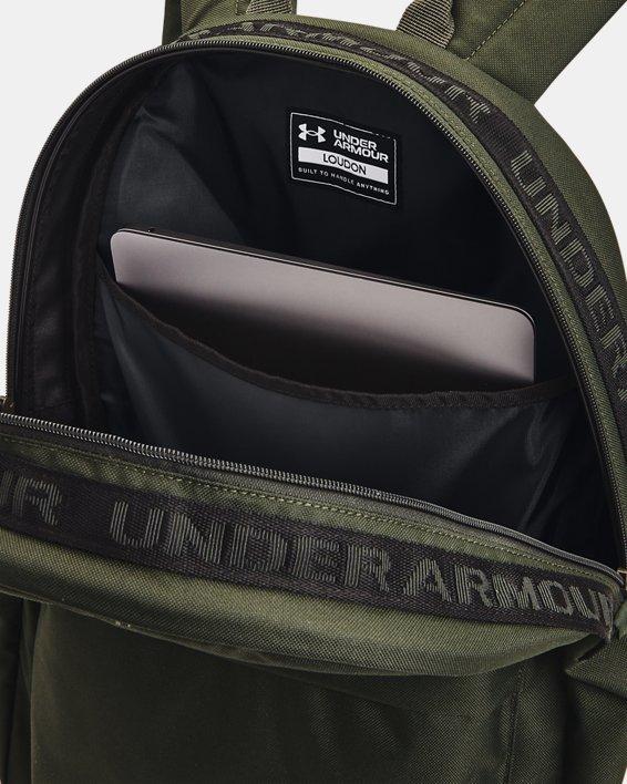 UA Loudon Backpack, Green, pdpMainDesktop image number 4