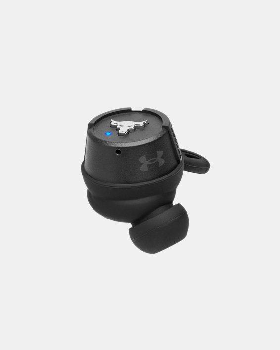 UA True Wireless Flash X Project Rock Edition Headphones, Black, pdpMainDesktop image number 12