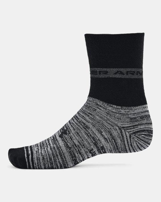 Unisex UA Essential Hi Lo Socks 2-Pack, Black, pdpMainDesktop image number 4