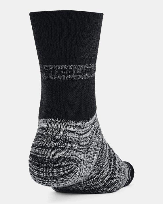 Unisex UA Essential Hi Lo Socks 2-Pack, Black, pdpMainDesktop image number 3